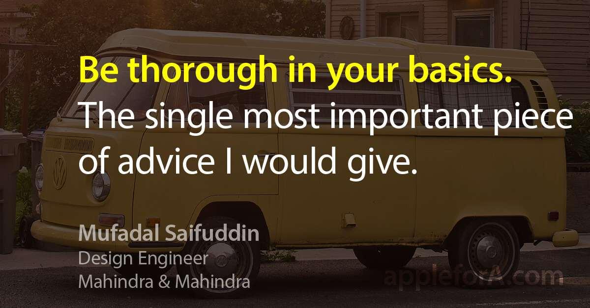 Career Story Of A Mechanical Design Engineer At Mahindra Mahindra Applefora