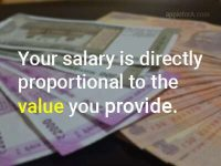 Your degree does not determine your salary