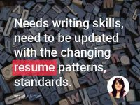 As a Resume Writer, there is a huge market.