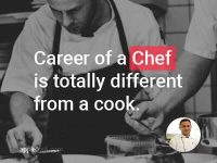 A Chef's life involves much more than the culinary arts