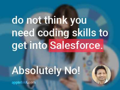Do an Internship at a firm that is involved with Salesforce Technology