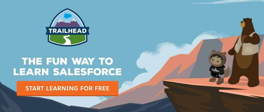 salesforce learning trailhead learn for free