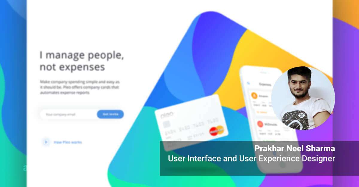how become UI UX Designer Prakhar Neel Sharma