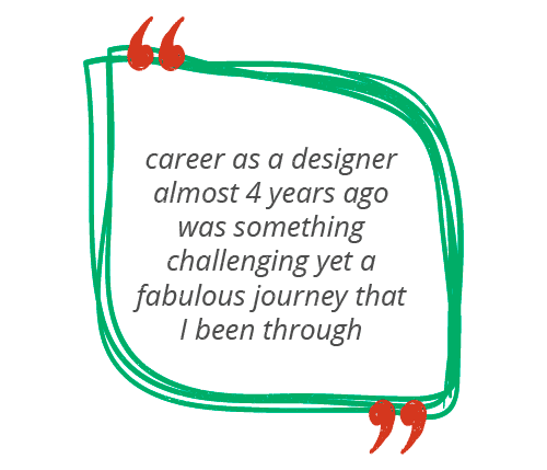 ui/ux designer prakhar says career as a designer almost 4 years ago was something challenging yet a fabulous journey that I been through