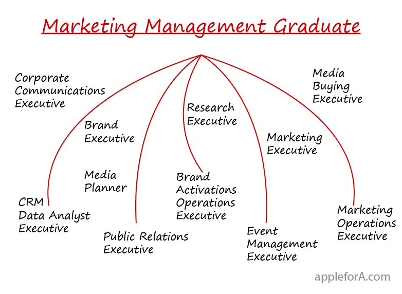 alternate career options for marketing management graduate