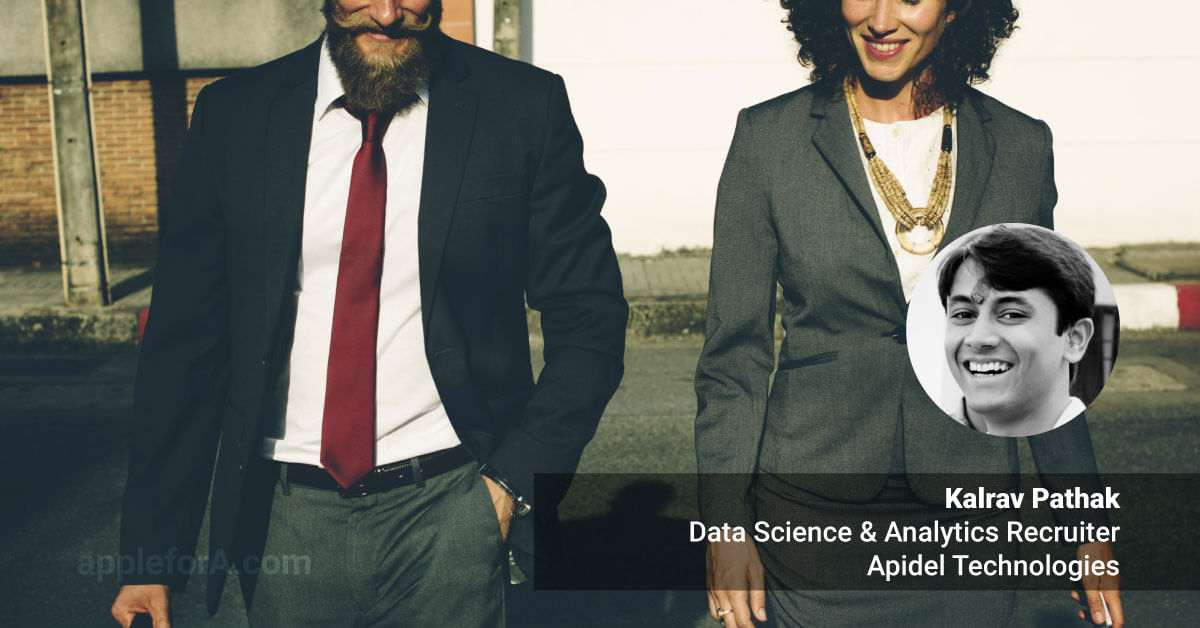 data science analyst recruiter career details and story