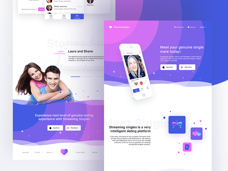 website design by UI UX designer