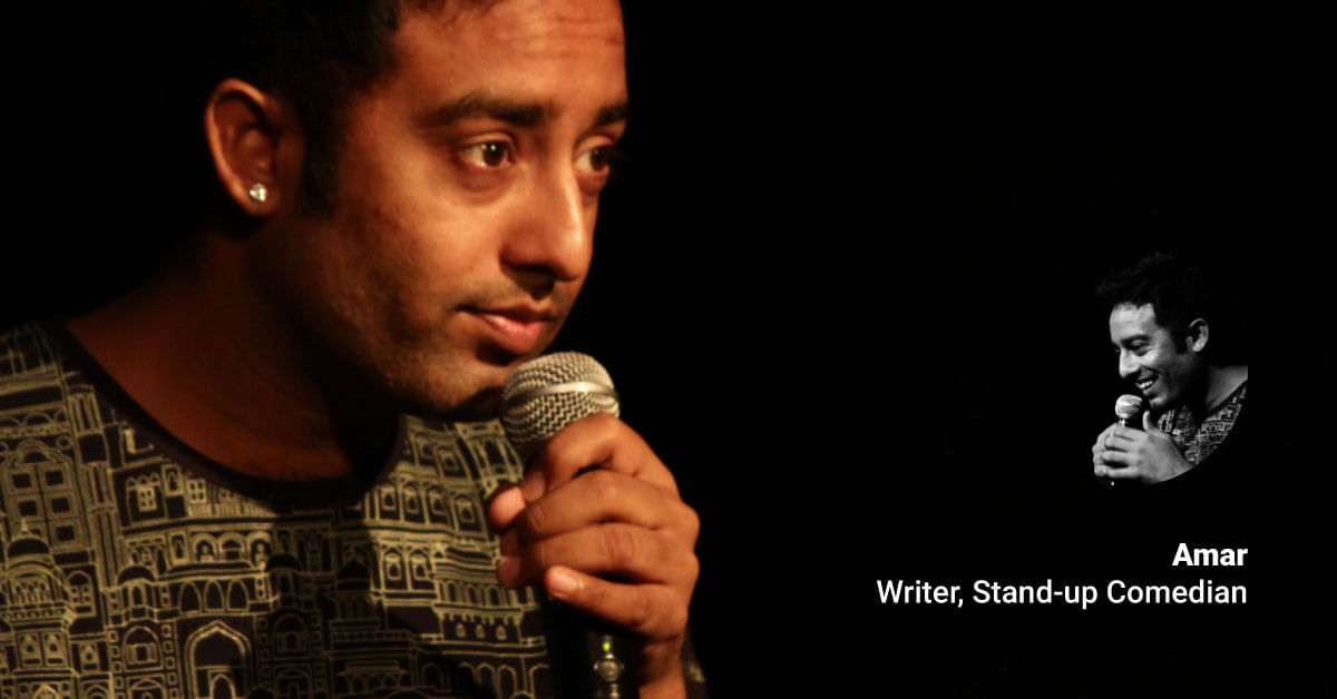 writer and stand-up comedian amar