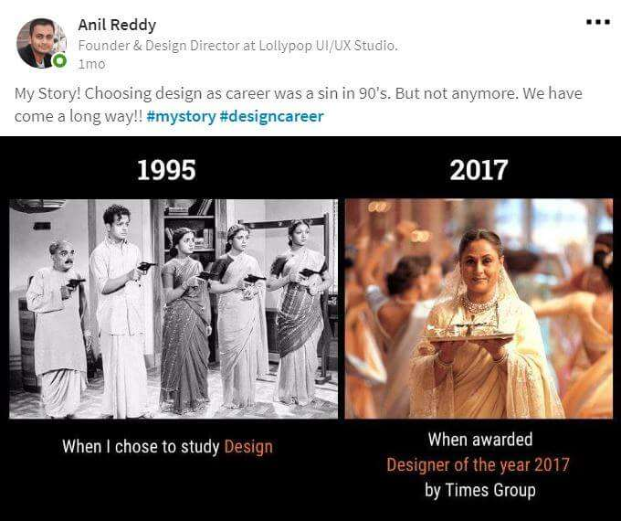 designer of the year 2017 times group anil reddy