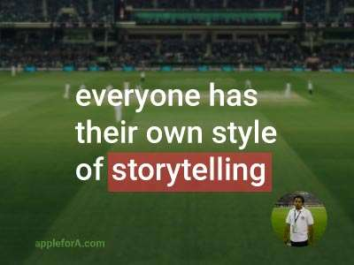 I am a Cricket Writer, my job is to report on cricket for our website