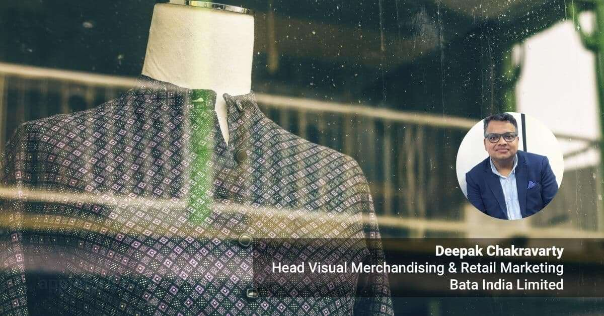 visual merchandiser Deepak Chakravarty career story after 12th