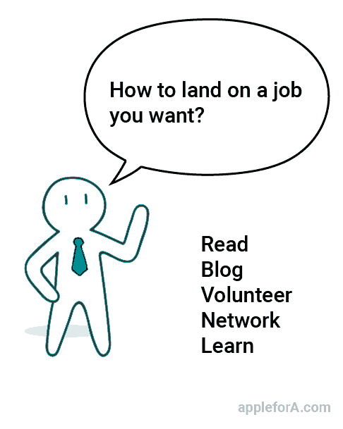 read blog volunteer network learn tips to land on job