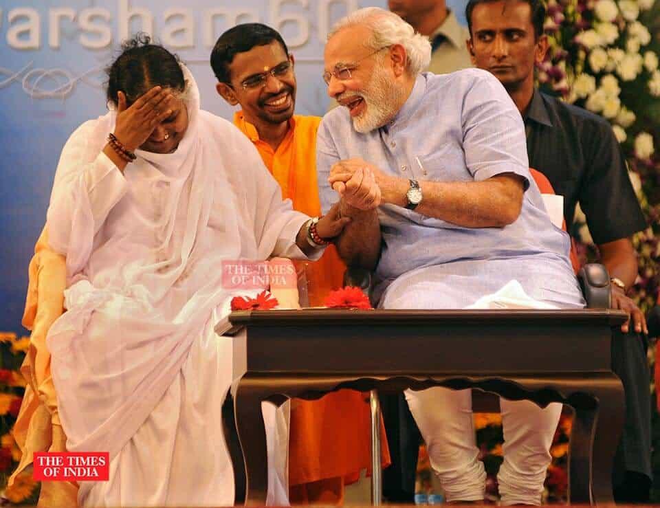 photojournalist Rakesh Nair Times of India narendra modi Matha amarthanathamay image